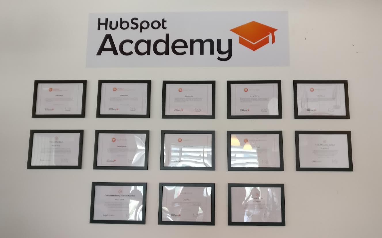 Hubspot Academy Certifications Ubrik Media Dubai