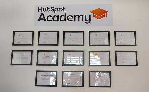 Hubspot Academy Certifications Ubrik Media Dubai