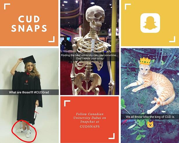 Canadian University Dubai Snapchat Marketing UAE University 1.jpg