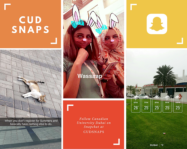 Canadian University Dubai Snapchat Marketing UAE University 3.png