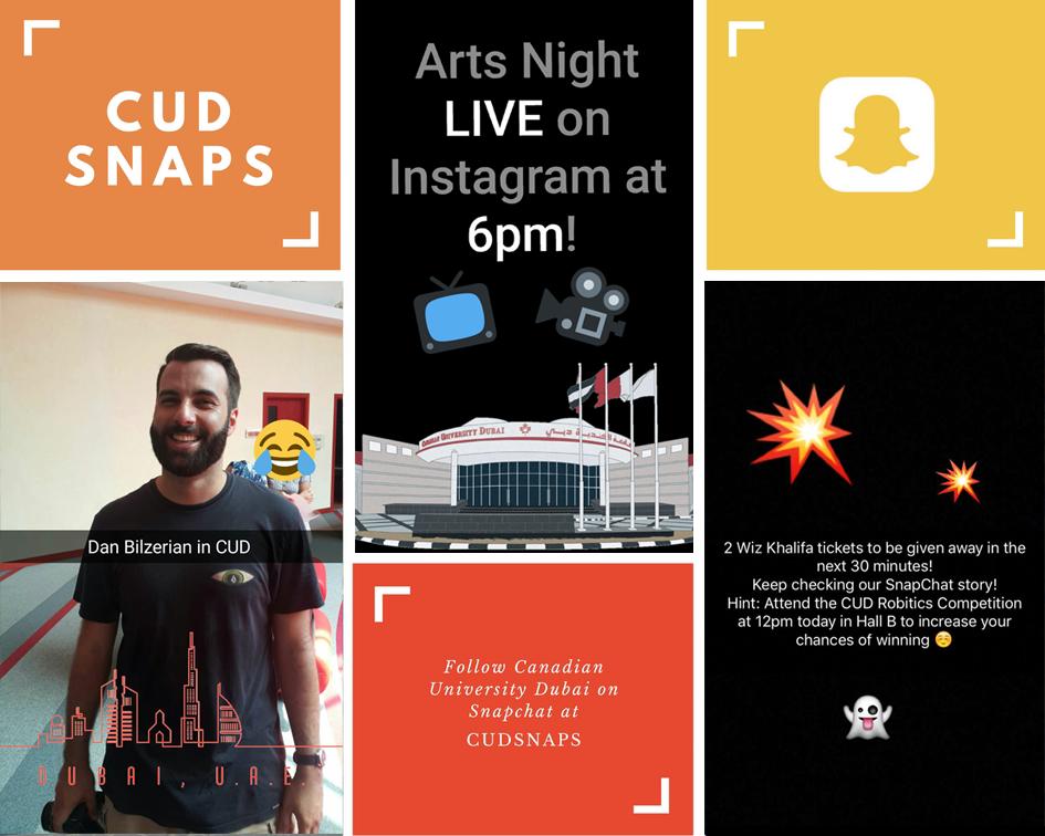 Canadian University Dubai Snapchat Marketing UAE University 5.png