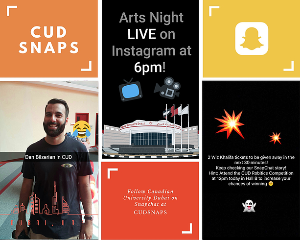 Canadian University Dubai Snapchat Marketing UAE University 5.png