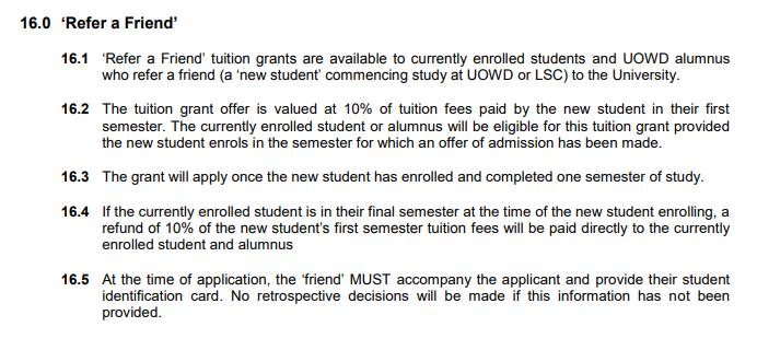 university referral programs marketing
