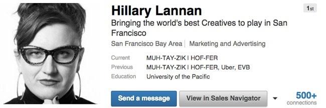 Linkedin headline example 2