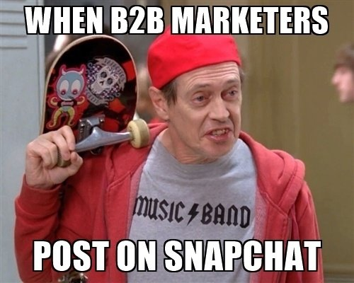 when-b2b-marketers-post-on-snapchat