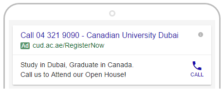 Click To Call ads for universities in dubai.png